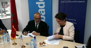 PME : Signature d'un accord de prêt entre la BERD ET BSC