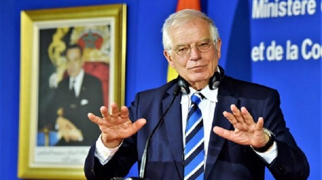 Josep Borrell salue l'action de SM le Roi dans la modernisation du Maroc et le rapprochement avec l'Europe