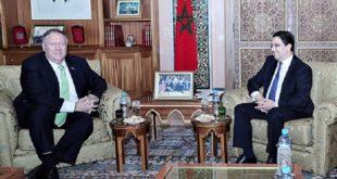 Nasser Bourita s'entretient avec le Secrétaire d'État américain, Michael Pompeo