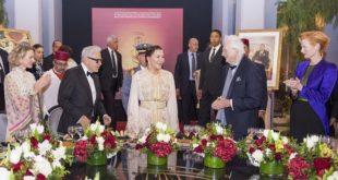 SAR Lalla Hasnaa préside un dîner offert par SM le Roi à l'occasion de l'ouverture du 18è FIFM