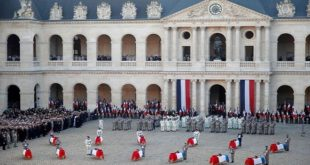France : Hommage national militaires morts au Mali