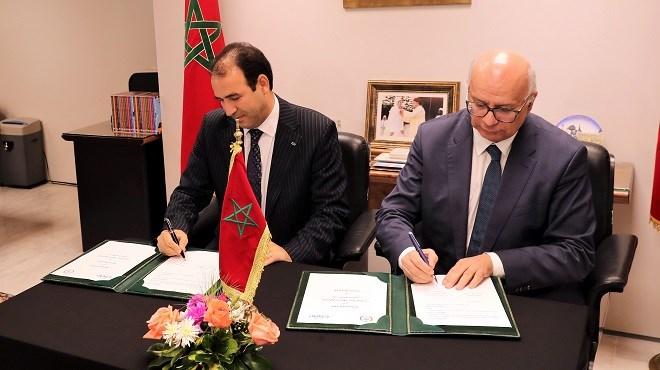 Données personnelles : Signature d'une convention entre l'Institution du Médiateur et la CNDP