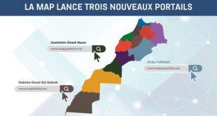 La MAP lance trois nouveaux portails régionaux