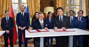 France-Maroc : Signature à Paris de plusieurs accords de coopération bilatérale