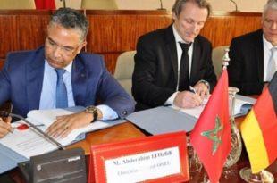 ONEE : Signature de contrats de financement avec la KfW