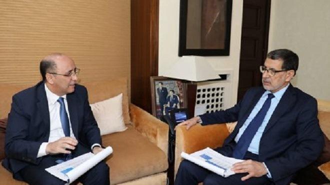 Rabat : Saad Dine El Otmani reçoit le président de l'ACAPS
