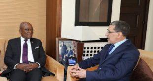 Saad Dine El Otmani s'entretient avec le président de l'Assemblée nationale du Gabon