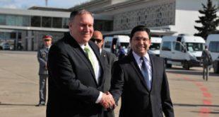 Arrivée au Maroc du secrétaire d'Etat américain Michael Pompeo