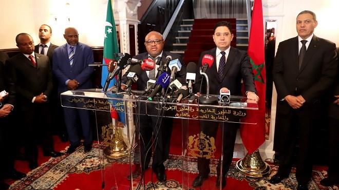 Laâyoune : L'Union des Comores va ouvrir une ambassade au Maroc en janvier 2020