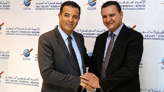 CGEM : Passation des pouvoirs entre Mohamed Bachiri et Chakib Alj