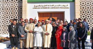 SM le Roi procède à l'inauguration d'un Complexe intégré de l'artisanat d'Essaouira