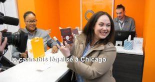 États-Unis : Le cannabis légalisé à Chicago