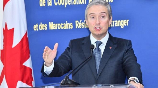 """Maroc-Canada, un rapprochement """"historique"""" pour travailler sur les grands enjeux du monde"""