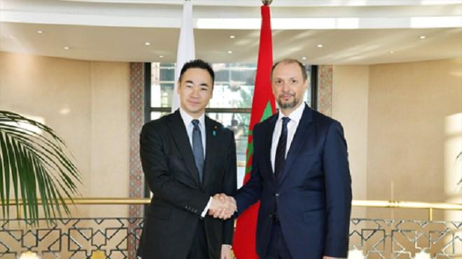 Rabat : 5ème session de la Commission mixte Maroc-Japon