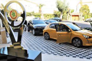 Trophées de l'automobile : La Peugeot 208 élue voiture de l'année 2020