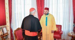 Le Roi Mohammed VI reçoit le Cardinal Cristobal Lopez Romero