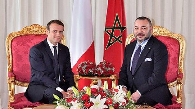 Libye : Appel téléphonique de Macron à Mohammed VI