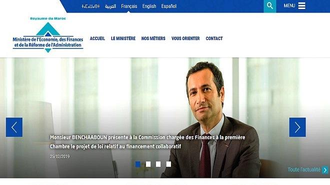 MEFRA : Le ministère de l'Economie renouvelle son site web