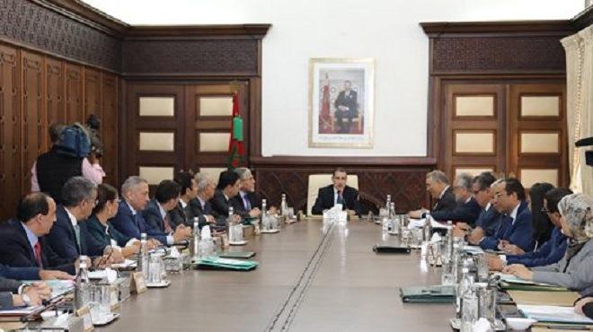 Rabat : Réunion jeudi du Conseil de gouvernement
