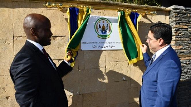 Inauguration à Rabat de l'ambassade du Rwanda au Maroc