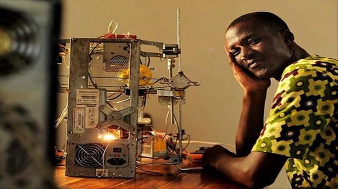 Togo : Une imprimante 3D à partir de déchets électroniques