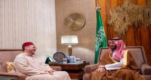 Le Prince Héritier d'Arabie Saoudite reçoit à Riyad le Conseiller de SM le Roi Mohammed VI