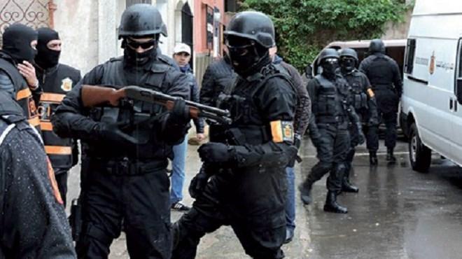 BCIJ : Démantèlement d'une cellule terroriste s'activant entre Casablanca, Mohammedia et Azilal