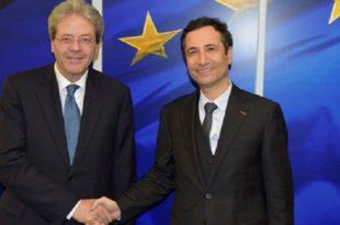 Maroc-UE : Entretiens entre Mohamed Benchaâboun et Paolo Gentiloni