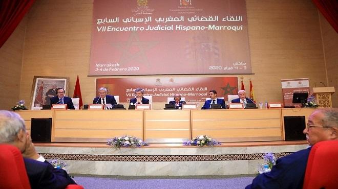Ouverture de la 7è Rencontre judiciaire maroco-espagnole