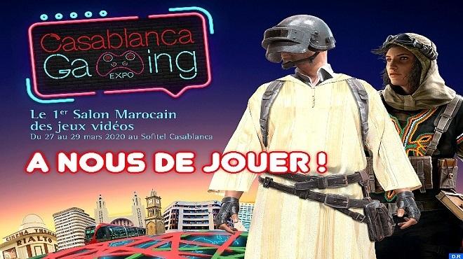 Casablanca Gaming Expo : 1er Salon marocain des jeux vidéo en mars