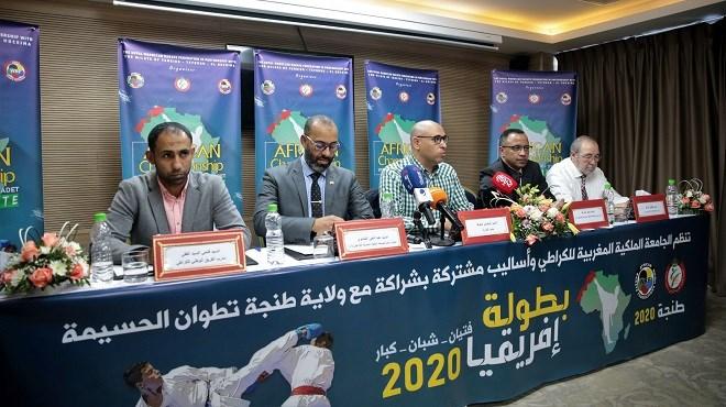 Présentation de l'édition 2020 du Championnat d'Afrique de Karaté