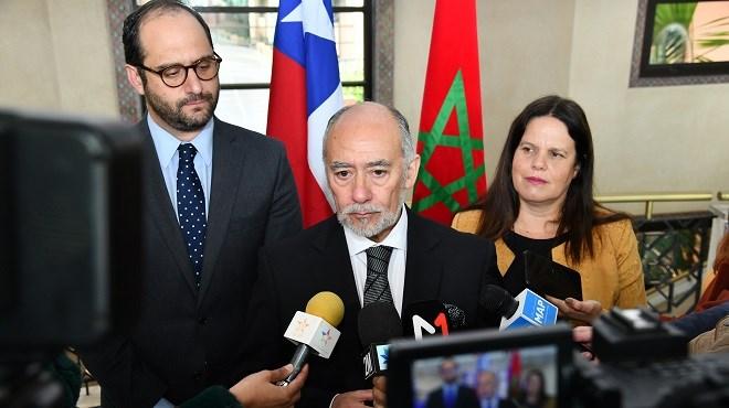 Sahara marocain : Le Chili réitère son soutien au plan d'autonomie