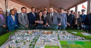 SM le Roi inaugure la Cité de l'Innovation Souss-Massa