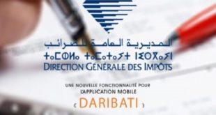 DGI : Nouvelle fonctionnalité de l'application «Daribati»