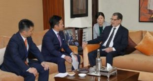Maroc-Japon : Saâd Dine El Otmani s'entretient avec Shinichi Nakatani