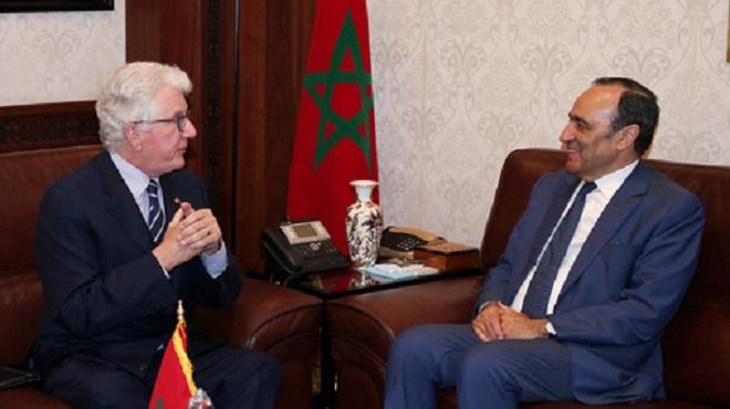 """Les USA """"déterminés"""" à raffermir ses relations avec le Maroc"""