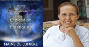 «Mains de Lumière» : Hommage à l'artiste peintre Malika Agueznay