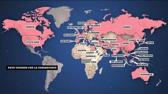 Épidémie de coronavirus : L'angoisse mondiale monte !