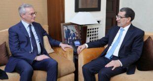 Le Maroc et la France réaffirment leur volonté de hisser leur partenariat dans divers domaines