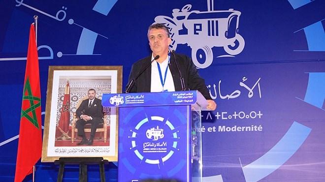 PAM : SM le Roi félicite Abdellatif Ouahbi