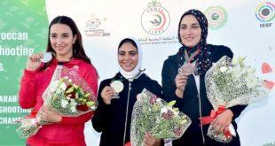 Championnat arabe de tir sportif : La Marocaine Yasmine Marighi médaillée d'argent au Trap 50