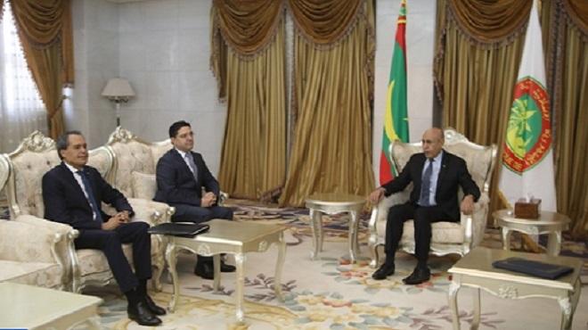 Nouakchott : Entretiens maroco-mauritaniens sur les moyens de renforcer la coopération bilatérale