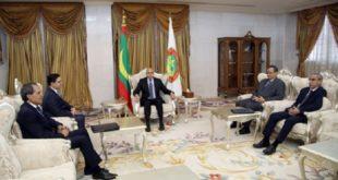 Nouakchott : Nasser Bourita reçu par le président mauritanien