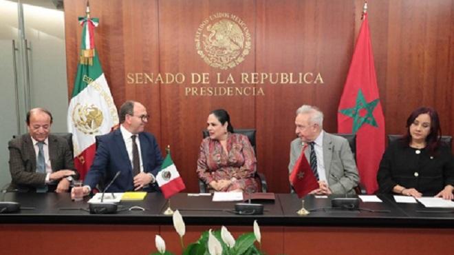 Maroc-Mexique : Renforcement de la coopération bilatérale entre les deux pays