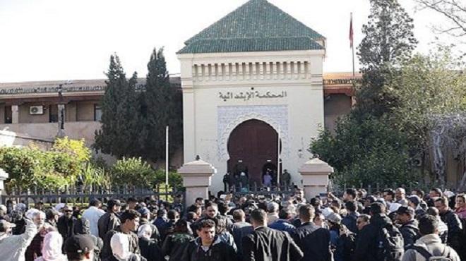 Hamza mon Bb : 3 accusés condamnés par le tribunal de première instance de Marrakech