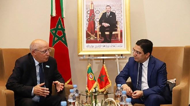 Marrakech : Bourita s'entretient avec Augusto Santos Silva