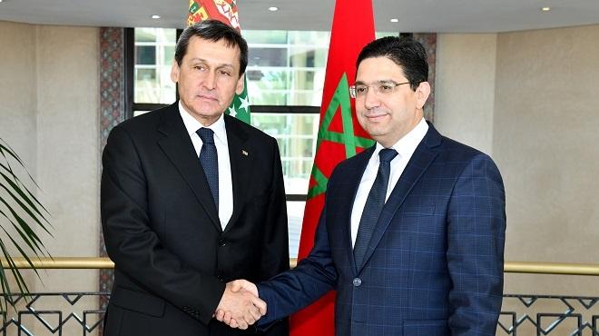 Le Turkménistan salue le rôle pionnier de SM le Roi en tant que président du Comité Al Qods