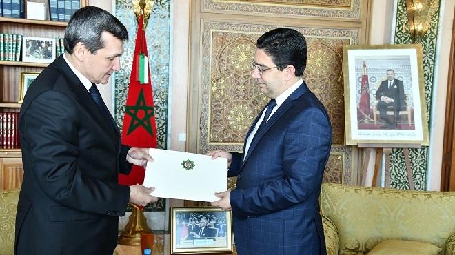 Bourita reçoit Rachid Meredov, porteur d'un message du président du Turkménistan à Sa Majesté le Roi