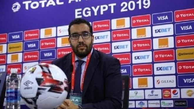 Abdelmounaïm Bah nommé Secrétaire Général par intérim de la CAF