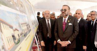 """SM le Roi lance les travaux de construction d'un """"Centre médical de proximité """" à Fès"""